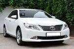 Аренда Toyota Camry V50 белая авто бизнес класса Киев цена