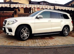 Mercedes GL350 прокат аренда киев