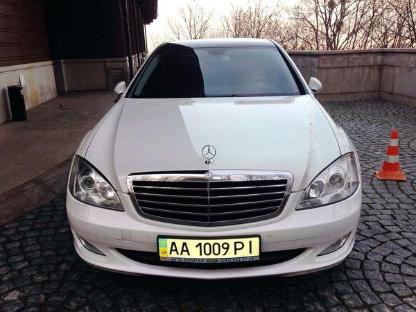 Mercedes W221 S600 белый прокат аренда