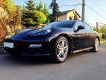 Аренда автомобиля Porsche Panamera черный Киев цена