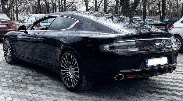 Aston Martin Rapide на прокат в киеве