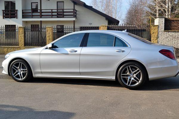 Mercedes W222 серебристый прокат аренда