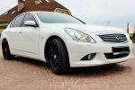 Аренда Infiniti G25 белый авто бизнес класса Киев цена