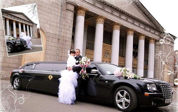 Аренда прокат лимузина Chrysler 300C Limo черный Киев цена