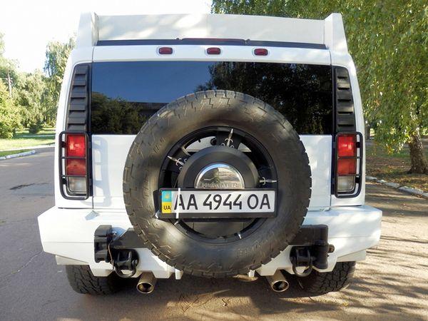 МЕГА Hummer H2 Трехосный прокат аренда
