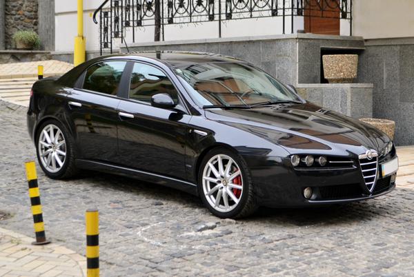 Alfa Romeo черный заказать на свадьбу