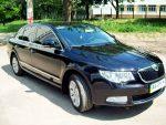 Прокат авто Skoda Super B черная Киев цена