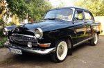 Ретро автомобиль Volga 21 Black на свадьбу съемки