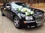 Аренда Chrysler 300C черный авто на свадьбу Киев цена
