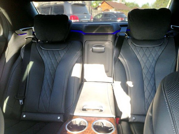 Mercedes W222 AMG черный на прокат киев