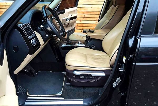 Range Rover Vogue черный заказать на свадьбу киев