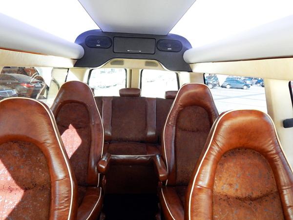 Chevrolet Express микроавтобус бизнес класса