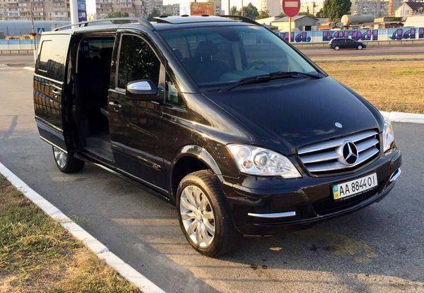 Mercedes Viano микроавтобус вип класса
