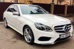 Аренда Mercedes W212 E200 AMG New белый Киев цена