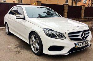 Mercedes W212 новый на прокат