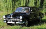 Аренда ретро автомобиля ZIM GAZ-12 черный Киев цена