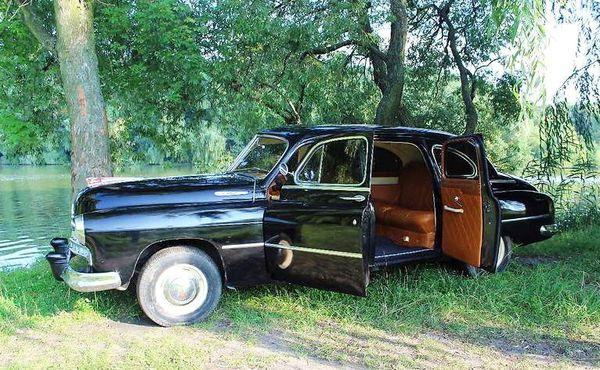 ZIM GAZ 12 черный свадьба съемки