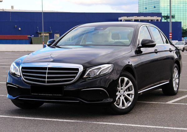 Mercedes W213 новый Е класс