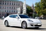 Аренда автомобиля Porsche Panamera белый Киев цена