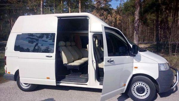 volkswagen-t5 аренда автобуса на 10 мест