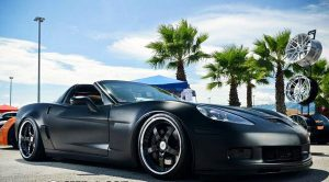 Chevrolet Corvette черный прокат аренда