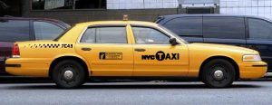 Ford Crown Victoria New York city taxi аренда