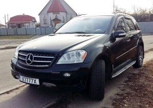 Mercedes ML350 черный прокат аренда