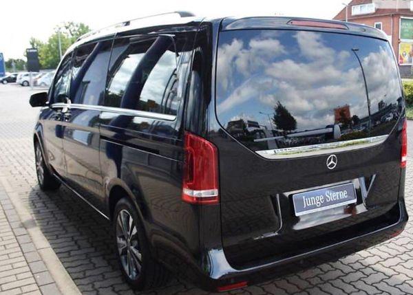 Mercedes Viano черный арендовать в киеве