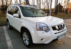 Nissan X-Trail белый прокат аренда