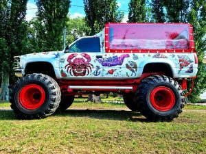 Party Bus Monster truck пати бас прокат арендовать на день рождения девичник