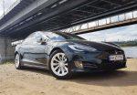 Tesla model S 75D 2017 черный прокат авто