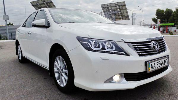 Toyota Camry V50 белая заказ