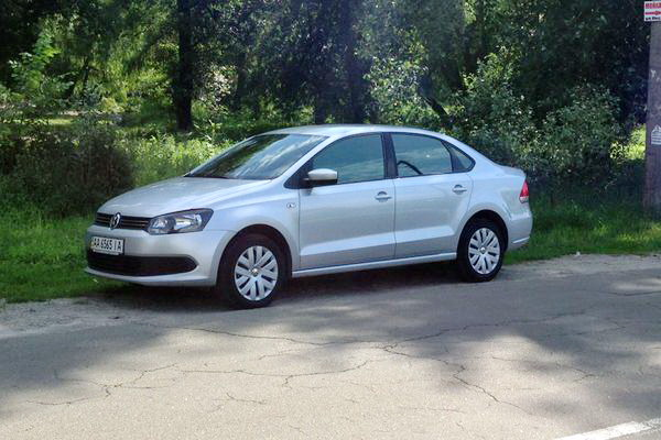 Volkswagen Polo заказ авто на свадьбу