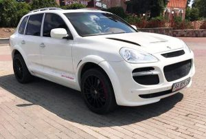 Porsche Cayenne белый прокат аренда