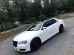 Аренда Chrysler 300C белый новый авто бизнес класса Киев цена