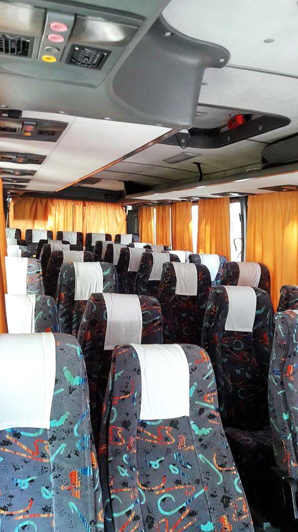 автобус Isuzu белый аренда заказ киев