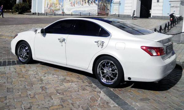 ES350 белый авто на свадьбу