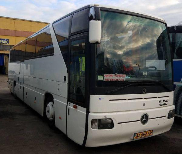 Mercedes белый автобус заказ в киеве