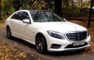 Аренда Mercedes W222 S63 на свадьбу