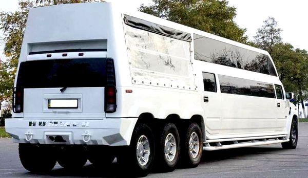 Прокат лимузина Ultra Mega Hummer H2