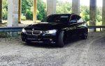 Аренда BMW 320i F30 черный авто бизнес класса Киев цена