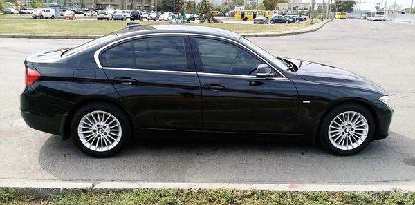 BMW 320i F30 черный на свадьбу в киеве