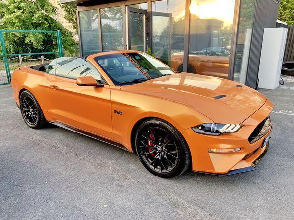 Ford Mustang GT оранжевый заказать на прокат