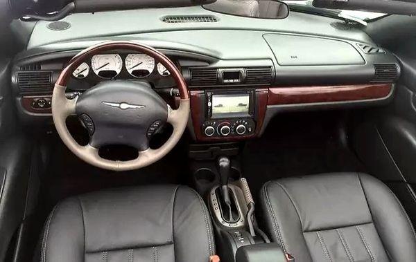 Chrysler Sebring белый кабриолет