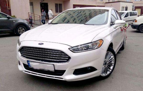 Ford Mondeo белый на прокат