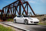 Аренда автомобиля Porsche Panamera белый на свадьбу