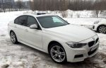 Аренда BMW 328M x-drive белый Киев цена