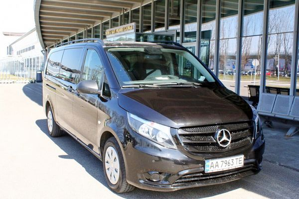 Mercedes Vito 447 микроавтобус на свадьбу