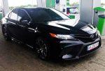 Аренда Toyota Camry V70 черная 2018 года