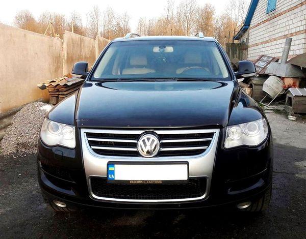 olkswagen Touareg черный на прокат в киеве